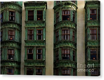 Columbus Tower San Francisco Canvas Print