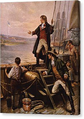 Francis Canvas Print - Francis Scott Key - Star Spangled Banner by War Is Hell Store
