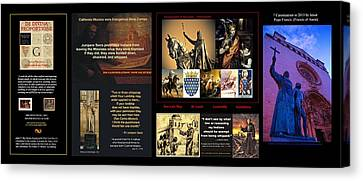 Francis Canvas Print - Franciscans And French Dauphins And Freemasons Oh Why? by Peter Hedding