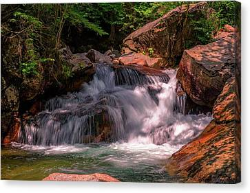 Franconia Notch 2 Canvas Print by Sherman Perry