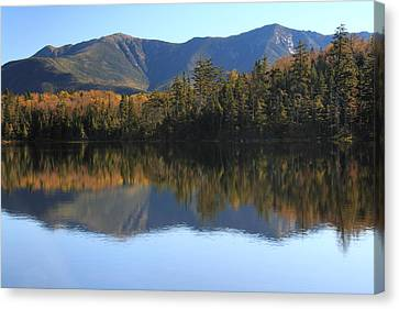 Franconia Ridge From Lonesome Lake Canvas Print