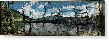 Franconia Ridge In The Distance Canvas Print