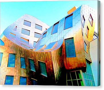 Frank Gehry 9 Canvas Print