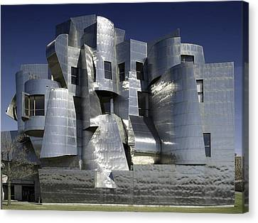 Frank Gehry Designed The Frederick R Canvas Print by Everett