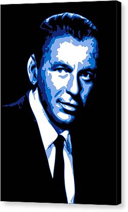 Frank Sinatra Canvas Print by DB Artist