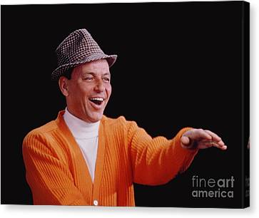 Frank Sinatra Promotional Photo From 1964 Canvas Print by The Titanic Project