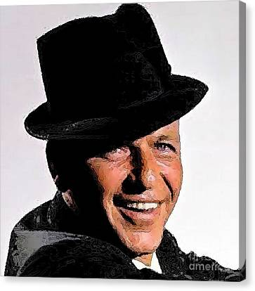 Frank Sinatra Canvas Print by Rod Jellison