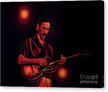 Frank Zappa 2 Canvas Print by Paul Meijering