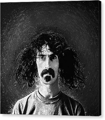 Restaurant Es Canvas Print - Frank Zappa by Taylan Apukovska