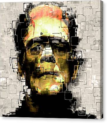 Frankenstein 20170325 Square Canvas Print by Wingsdomain Art and Photography