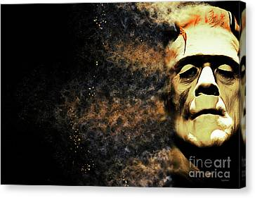 Goodbye Cruel World Love Frankenstein 20161101 Canvas Print by Wingsdomain Art and Photography
