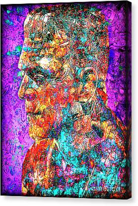 Frankenstein I Have Love In Me The Likes Of Which You Can Scarcely Imagine 20170406 Canvas Print by Wingsdomain Art and Photography