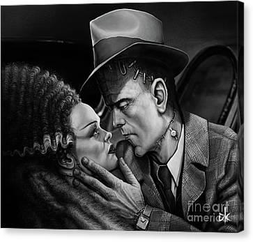 Don't Bogart My Bride Canvas Print