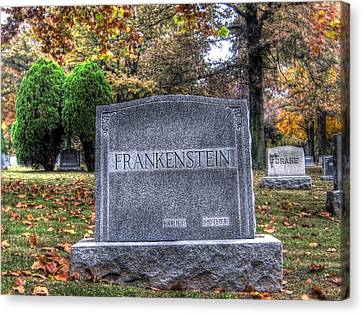 Hdr Landscape Canvas Print - Frankenstein by Jane Linders