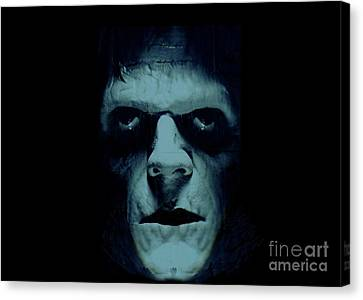 Canvas Print featuring the photograph Frankenstein by Janette Boyd