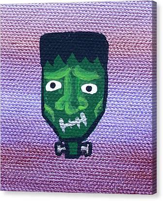 Frankenstein Canvas Print by Jera Sky