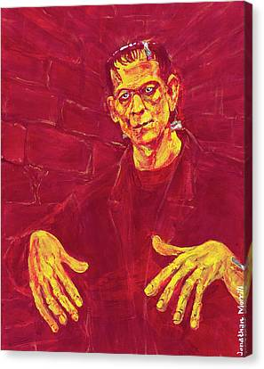 Frankenstein's Monster 1931 Canvas Print