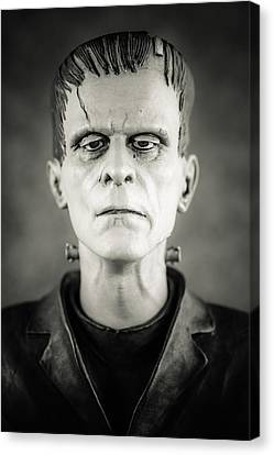 Frankenstein's Monster - Boris Karloff II Canvas Print