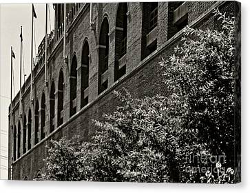 Franklin Field Canvas Print by Tom Gari Gallery-Three-Photography
