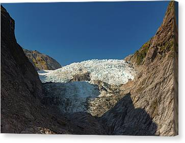 Canvas Print featuring the photograph Franz Josef Glacier by Gary Eason
