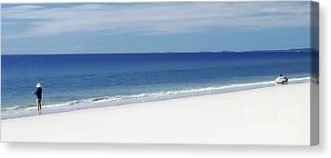 Fraser Island - West Coast Canvas Print by Geoff Childs