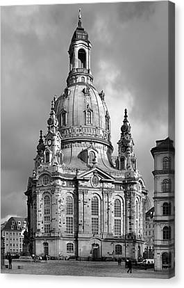 Frauenkirche Dresden - Church Of Our Lady Canvas Print by Christine Till