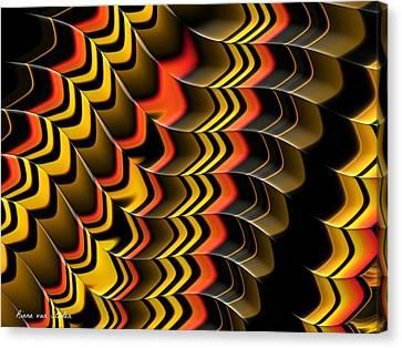 Frax Patterns Canvas Print