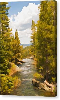 Frazier Creek Canvas Print