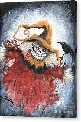 Frazzled Scarecrow Canvas Print