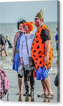 Fred And Wilma Canvas Print