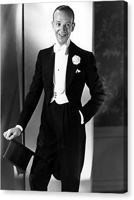 Fred Astaire At The Time Of Follow The Canvas Print by Everett