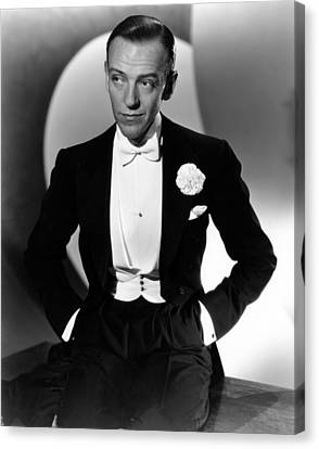 Fred Astaire At The Time Of Roberta Canvas Print by Everett