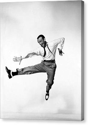 Fred Astaire Canvas Print by Georgia Fowler