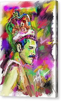 Freddie Mercury, Bohemian Rhapsody Canvas Print