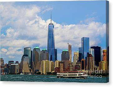 Freedom Tower Nyc Canvas Print