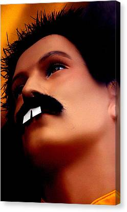Freddy Mercury 3 Canvas Print by Jez C Self