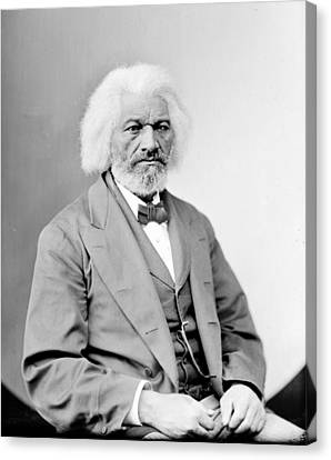 Frederick Douglass 1818-1895, African Canvas Print by Everett