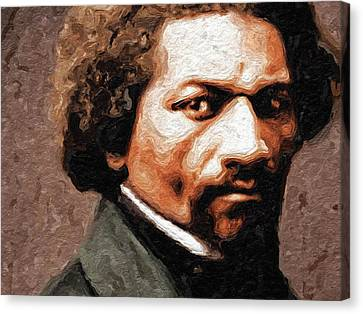 Frederick Douglass I Canvas Print