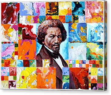 Frederick Douglass Canvas Print