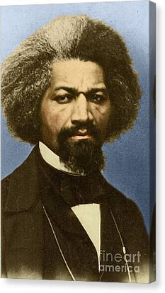 Frederick Douglass Canvas Print by Science Source