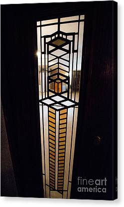 Frederick Robie House - 3 Canvas Print by David Bearden