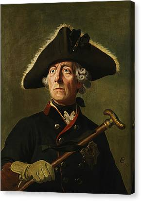 Frederick The Great Canvas Print