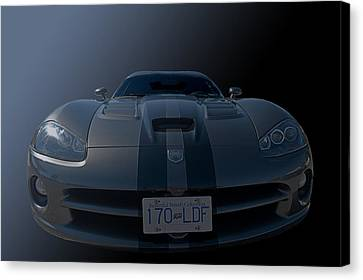Fred's Baby Front End Canvas Print