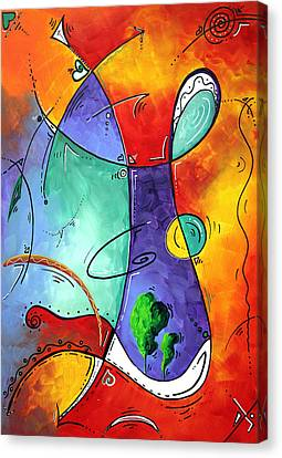 Free At Last Original Art By Madart Canvas Print