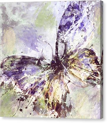 Free Butterfly Canvas Print by Mindy Sommers