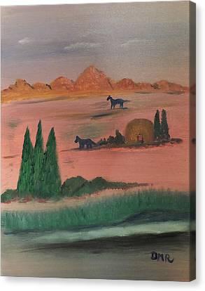 Free Canvas Print by Della May Roberts