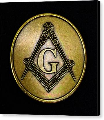 Free Masons - Knights Templar Canvas Print by Paul W Faust - Impressions of Light