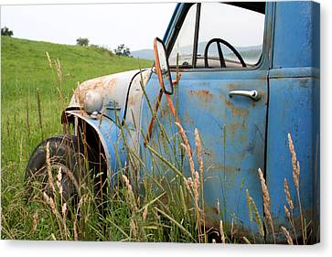 Free Parking Canvas Print by Doug Hockman Photography
