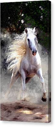 Canvas Print featuring the painting Free Spirit #2 by James Shepherd