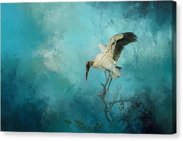 Rare Bird Canvas Print - Free Will by Marvin Spates